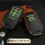 ซองหนังแท้ ใส่กุญแจรีโมทรถยนต์ รุ่นด้ายสีเรืองแสง All New Honda Accord,Civic 2016-18 Smart Key 4 ปุ่ม thumbnail 7