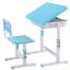 ชุดโต๊ะหนังสือเด็ก Smart Kids Desk สีฟ้า thumbnail 1