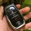 กรอบ-เคส ใส่กุญแจรีโมทรถยนต์ All New Toyota Fortuner TRD/Camry 2015-18 Smart Key 4 ปุ่ม โลโก้_เงิน แบบใหม่ thumbnail 10