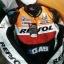 ชุดขี่มอเตอร์ไซค์ เสื้อแจ็คเก็ต เสื้อการ์ด Repsol ไซส์ XL,2XL สีส้ม-แดง thumbnail 1