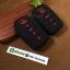ปลอกซิลิโคน หุ้มกุญแจรีโมทรถยนต์ Toyota Fortuner/Camry 2015-17 Smart Key 4 ปุ่ม สีดำ/แดง thumbnail 3