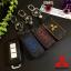 ซองหนังแท้ ใส่กุญแจรีโมทรถยนต์ รุ่นด้ายสี Mitsubishi Mirage,Attrage,Triton,Pajero thumbnail 1