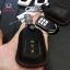 ซองหนังแท้ ใส่กุญแจรีโมทรถยนต์ Honda Accord All New City 2014-16 Smart Key 3 ปุ่ม รุ่นหนังนิ่ม สี ดำ/ด้ายแดง thumbnail 1