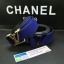 เข็มขัดหลุยส์ Louis Vuitton 2014 New Original Gold Buckle Men Belt Blue thumbnail 1