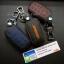 ซองหนังแท้ ใส่กุญแจรีโมทรถยนต์ Toyota Hilux Revo Smat Key 3 ปุ่ม รุ่นด้ายสี thumbnail 5