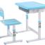 ชุดโต๊ะหนังสือเด็ก Smart Kids Desk สีฟ้า thumbnail 2