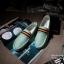 แฟชั่นรองเท้าชาย รองเท้าหนังผ้าใบ ไสต์เกาหลี สีเบจ/สีเทา/สีฟ้าอ่อนไซส์ 42-43-44 (Pre) thumbnail 6