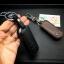 ซองหนังแท้ ใส่กุญแจรีโมทรถยนต์ รุ่นหนังนิ่มโลโก้-เหล็ก Mazda 2,3/CX-3,5 Smart Key 2 ปุ่ม thumbnail 7