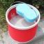 ถังใส่น้ำ ล้างรถยนต์ อเนกประสงค์ แบบพับได้ พกพาสะดวก (สีแดง,สีฟ้า) thumbnail 7