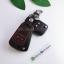 ซองหนังแท้ ใส่กุญแจรีโมท รุ่นด้ายสี พิมพ์โลโก้ Chevrolet Captiva,โคโรลาโด พับข้าง รุ่น 2 ปุ่ม thumbnail 4