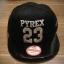 หมวกแฟชั่น หมวกฮิปฮอป บีบอย PYREX23GD สีดำ thumbnail 1