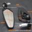 กระจกปลายแฮนด์ ทรง CRG วัสดุ CNC ก้านดำ thumbnail 4