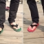 รองเท้าแตะผู้ชาย K - Swiss inspired Plush 2 สี เทา,แดง,เขียว thumbnail 16