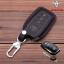 New ซองหนังแท้ ใส่กุญแจรีโมทรถยนต์ รุ่นหนังนิ่ม Toyota Hilux Revo กุญแจอัจฉริยะ 3 ปุ่ม thumbnail 1