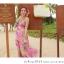ชุดเดรสยาว แซกยาว ใส่ไปเที่ยวทะเลสวยๆ โทนสีชมพู สายเดี่ยว พิมพ์ลายสวยๆ thumbnail 8