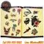 [OLD SCHOOL #4] หนังสือลายสัก Old School หนังสือสักลายโอสคูล รูปลายสักสวยๆ รูปรอยสักสวยๆ สักลายสวยๆ ภาพสักสวยๆ แบบลายสักเท่ๆ แบบรอยสักเท่ๆ ลายสักกราฟฟิก Old School Tattoo Manuscripts Flash Art Design Outline Sketch Book (A4 SIZE) thumbnail 5