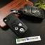 ซองหนังแท้ ใส่กุญแจรีโมทรถยนต์ Honda Civic FB,CR-V Keyless 3 ปุ่ม รุ่นถอดปลอกได้ สีดำ thumbnail 4