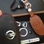 ซองหนังแท้ ใส่กุญแจรีโมทรถยนต์ รุ่นหนังนิ่ม โลโก้-เงิน Nissan Teana,Almera,Sylphy,Xtrail Smart Key 4 ปุ่ม thumbnail 9