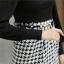 ชุดแซกทำงานเรียบหรู เสื้อสีดำ แขนยาว ต่อด้วย กระโปรงทรงเอลายตารางน่ารักๆ พร้อมเข็มขัด ไซส์ S M L thumbnail 12