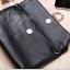 กระเป๋าสตางค์ / หนังแท้ กระเป่าคลัทช์ กระเป๋าหนัง สีดำ thumbnail 8