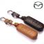 ซองหนังแท้ ใส่กุญแจรีโมทรถยนต์ Mazda 2,3/CX-3,5 Smart Key 2 ปุ่ม thumbnail 5