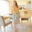 ชุดเดรสยาวแฟชั่นเกาหลี แม็กซี่เดรสสวยๆ สีเหลือง กระโปรงลายดอกไม้ เป็นชุดเดรสแนวหวานน่ารัก เรียบร้อย ดูดี ( S M L) thumbnail 3