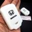 ปลอกซิลิโคน หุ้มกุญแจรีโมทรถยนต์ Honda HR-V,JAZZ,CR-V,BR-V Smart Key 2 ปุ่ม สีขาว thumbnail 8