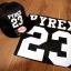 หมวกแฟชั่น หมวกฮิปฮอป บีบอย PYREX23GD สีดำ thumbnail 9