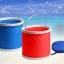 ถังใส่น้ำ ล้างรถยนต์ อเนกประสงค์ แบบพับได้ พกพาสะดวก (สีแดง,สีฟ้า) thumbnail 2