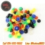 จุกยางก้านเข็มเครื่องสักคละสี ±100ชิ้น Multi-color Rubber Grommets Nipples For Tattoo Machine Needles Nipples (±100PCS) thumbnail 1