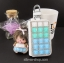 กระเป๋าซองหนังใส่ กุญแจรีโมทรถยนต์ ได้ทุกรุ่น ประดับคริสตัล DIY สี ขาว/เขียว/ฟ้า (ไม่รวม-ตุ๊กตา) thumbnail 1