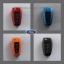 กรอบ-เคส ABS ใส่กุญแจรีโมทรถยนต์ Foed Ranger All New Foucs รุ่น 3 ปุ่ม thumbnail 1