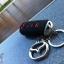 ปลอกซิลิโคน หุ้มกุญแจรีโมทรถยนต์ Mazda 2,3/CX-3,5 Smart Key 2 ปุ่ม สี ดำ/แดง thumbnail 8