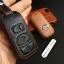 ซองหนังแท้ ใส่กุญแจรีโมทรถยนต์ รุ่นโลโก้เหล็ก Nissan Navara,Tiida Smart Key แบบใหม่ thumbnail 9