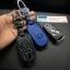 ซองหนังแท้ ใส่กุญแจรีโมทรถยนต์ หนัง Hi-End Honda Civic FB,Accord G8 รุ่น พับข้าง 3 ปุ่ม thumbnail 9