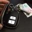 กระเป๋าซองหนังแท้ ใส่กุญแจรีโมทรถยนต์ รุ่นมินิซิบรอบ HONDA HR-V,CR-V,BR-V,JAZZ Smart Key 2 ปุ่ม thumbnail 8