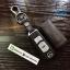ซองหนังแท้ ใส่กุญแจรีโมทรถยนต์ Mazda 2-3/CX Smart Key 3 ปุ่ม รุ่นด้ายสี thumbnail 3