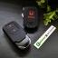 ปลอกซิลิโคน หุ้มกุญแจรีโมทรถยนต์ Honda HR-V,JAZZ,CR-V,BR-V Smart Key 2 ปุ่ม สี ดำ/แดง thumbnail 3