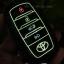 ซองหนังแท้ ใส่กุญแจรีโมทรถยนต์ รุ่นด้ายสีเรืองแสง All New Toyota Fortuner/Camry 2015-18 Smart 4 ปุ่ม thumbnail 10