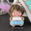 กระเป๋าซองหนังใส่ กุญแจรีโมทรถยนต์ ได้ทุกรุ่น ประดับคริสตัล DIY สี ขาว/เขียว/ฟ้า (ไม่รวม-ตุ๊กตา) thumbnail 3