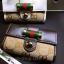 กระเป๋าพวงกุญแจ Gucci กุชชี่ ลายใหม่ คุณภาพเป็นเลิศ สี น้ำตาล - ขาว (Pre) thumbnail 1