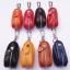 กระเป๋าซองหนังแท้ ใส่กุญแจ อเนกประสงค์ สี ดำ - น้ำตาล - น้ำตาลอ่อน thumbnail 2