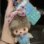 กระเป๋าซองหนังใส่ กุญแจรีโมทรถยนต์ ประดับคริสตัล DIY หลากสี (ไม่รวม-ตุ๊กตา) thumbnail 2