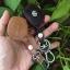 ซองหนังแท้ ใส่กุญแจรีโมทรถยนต์ รุ่นดอกกุญแจโลโก้เหล็ก Suzuki Swift,Ciaz แบบใหม่ thumbnail 9