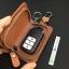 กระเป๋าซองหนังแท้ ใส่กุญแจรีโมทรถยนต์ รุ่นซิบรอบ พิมพ์ลาย Channel thumbnail 10
