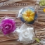 ขายส่งเทียนหอมช่อดอก เทียนลีลาวดี เทียนกุหลาบ เทียนออคิด ดอกไม้เทียนหอม อโรมาAroma-candle งานปั้นกลีบทุกดอก เหมาะกับการนำไปเป็นของชำร่วยในงานมงคลต่างๆ thumbnail 3