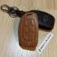 ซองหนังแท้ ใส่กุญแจรีโมทรถยนต์ รุ่นโลโก้เหล็ก Hyundai Elantra 2,3 ปุ่ม พับข้าง thumbnail 7