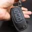 ซองหนังแท้ใส่กุญแจรีโมทรถยนต์ Ford Fiesta - Focus แบบพับข้าง โลโก้ฟ้า 3 ปุ่ม thumbnail 7