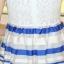 ชุดออกงานสวยๆแฟชั่นเกาหลี สีน้ำเงิน ผ้าลูกไม้ เหมาะกับการใส่ทำงาน หรือจะใส่ออกงาน ไปงานแต่งงานก็ได้ จะให้ลุคที่สวยสง่า thumbnail 10