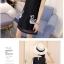ชุดเดรสสั้นสีดำ คอปก แขนกุด พิมพ์ลายห่านคู่น่ารักๆ แฟชั่นสวยๆสไตล์เกาหลี thumbnail 5